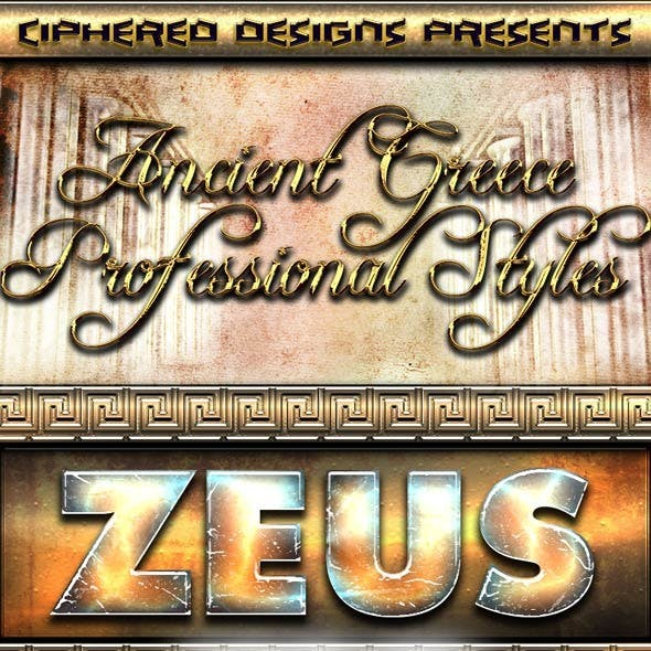 Ancient Greece - Professional Layer Styles