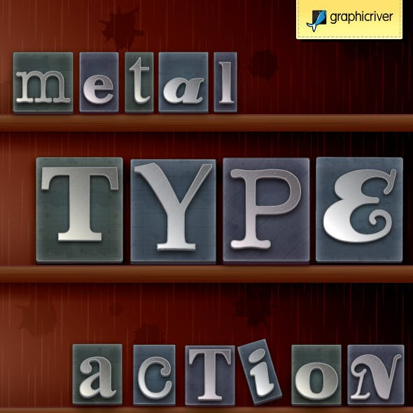 Metal Type Print Block Generator