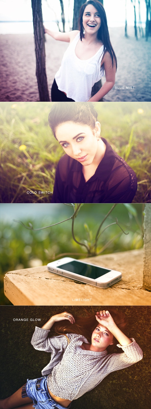 Cold Summer Photography Actions - Photo Effects Actions