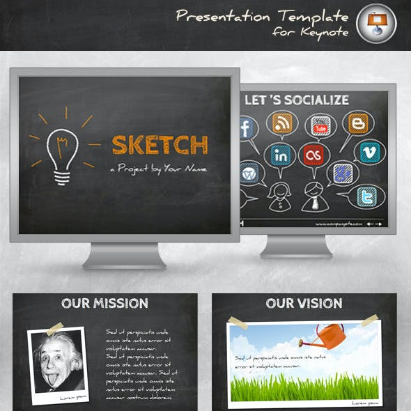 Sketch Keynote Template