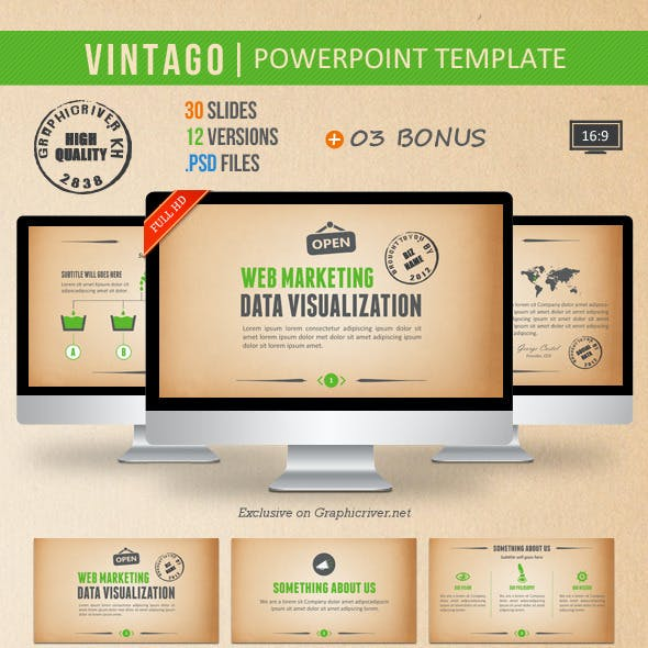 Vintago Powerpoint Template