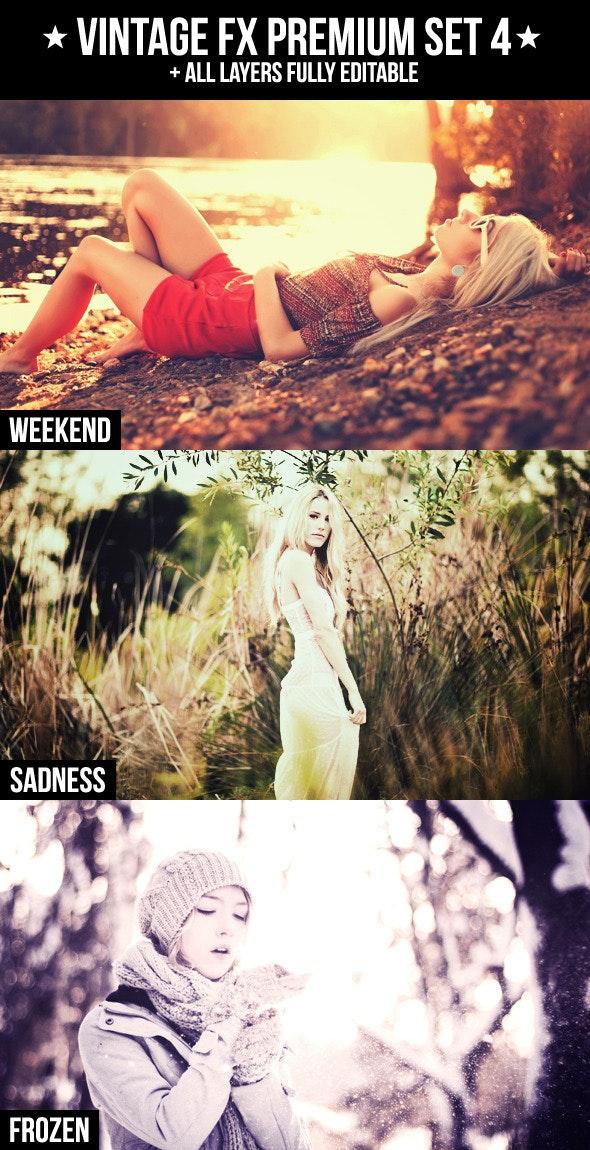 Vintage FX Premium Set 4 - Photo Effects Actions