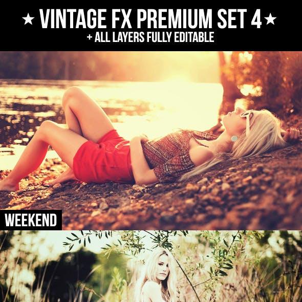 Vintage FX Premium Set 4