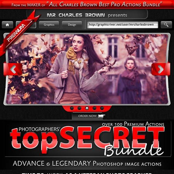 Photographers Top Secret Action Bundle