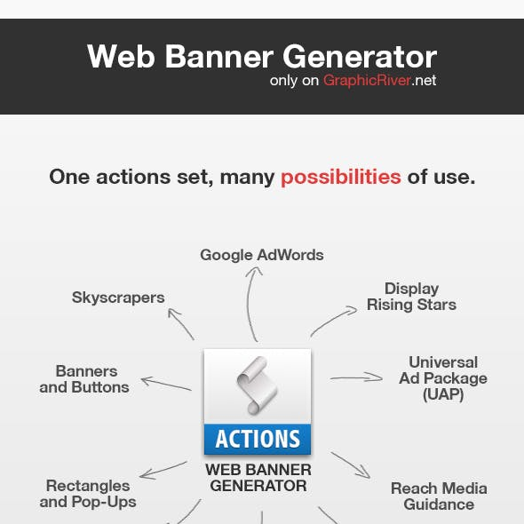 Web Banners Generator