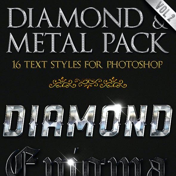 Diamond & Metal vol. 2 - Text Styles