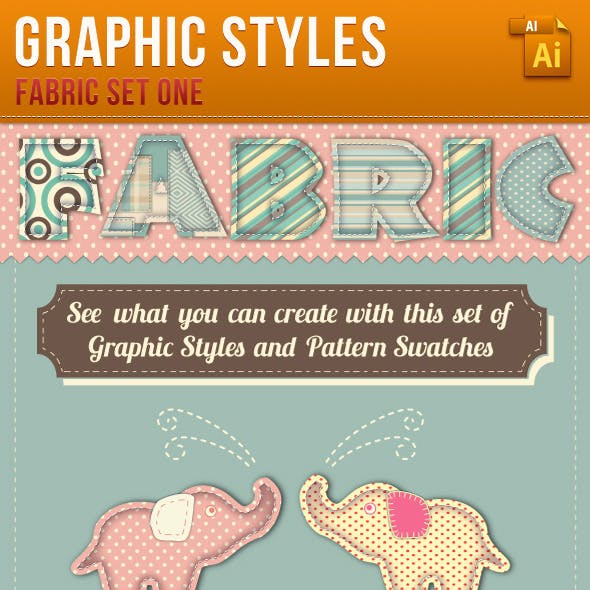 Fabric Graphic Styles and Patterns
