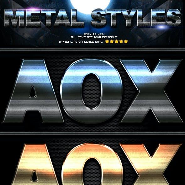 10 Metal Styles