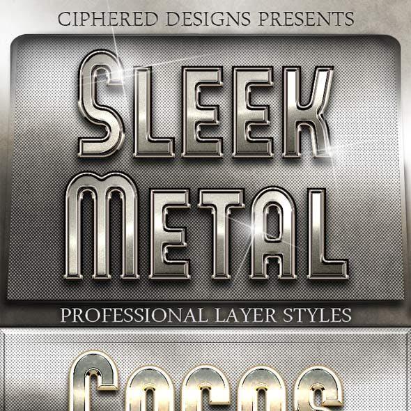 Sleek Metal - Professional Layer Styles