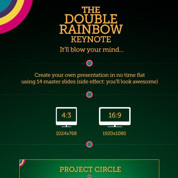 The Double Rainbow Keynote Template