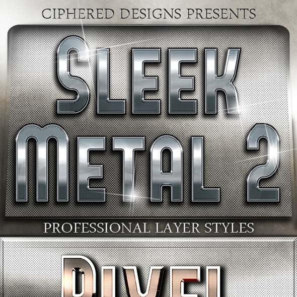 Sleek Metal II - Professional Layer Styles