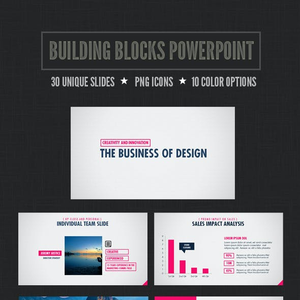 Building Blocks Powerpoint