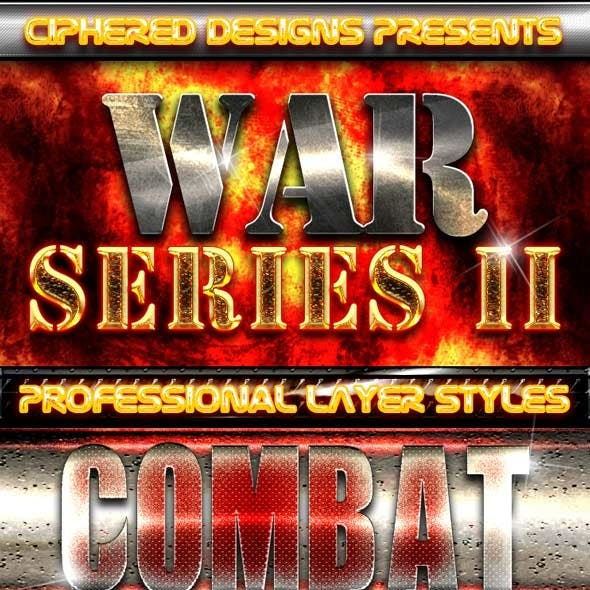 War Series II - Professional Layer Styles