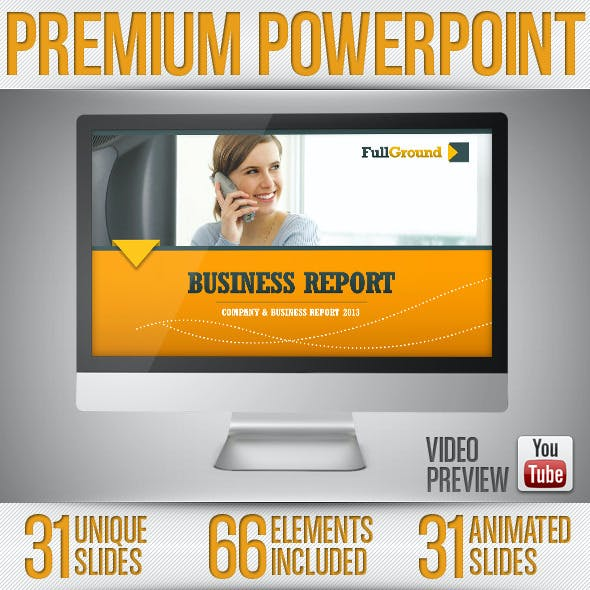 Fullground - PowerPoint Presentation Template