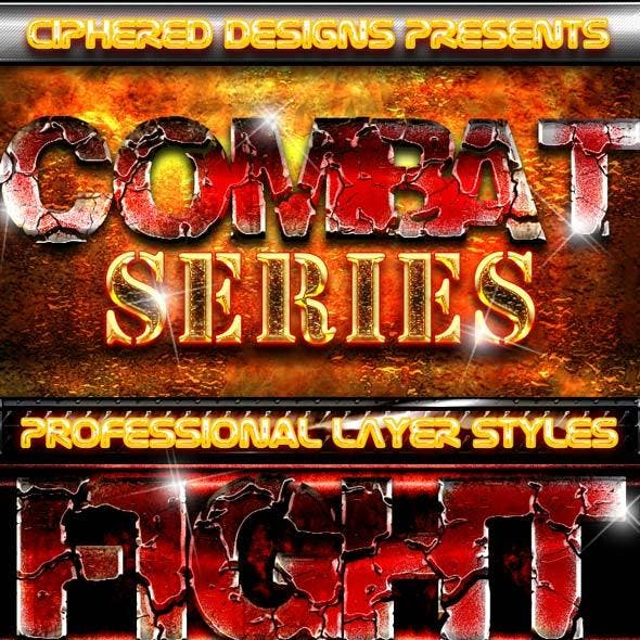 Combat Series - Professional Layer Styles