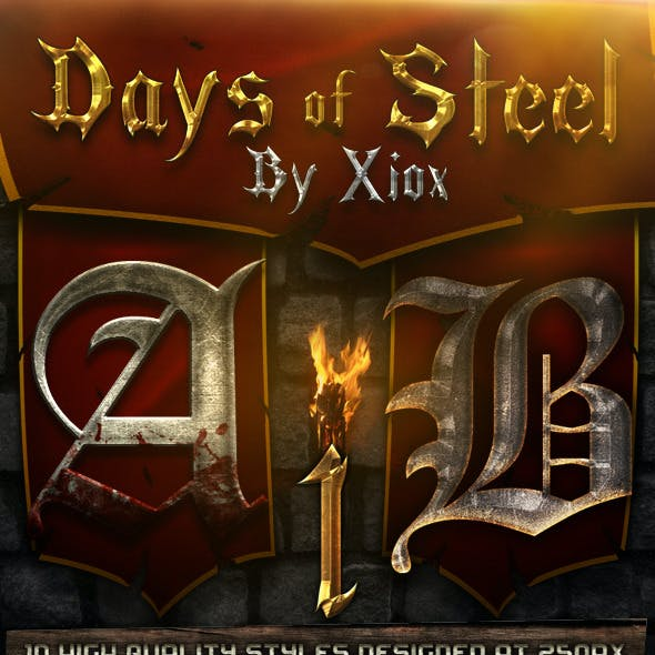 Days of Steel - Style Pack 1-