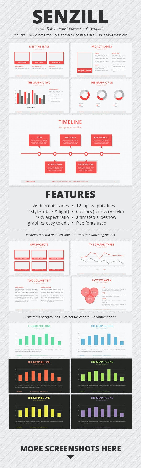 Senzill PowerPoint Template - PowerPoint Templates Presentation Templates