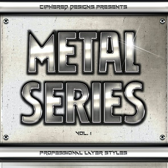Metal Series - Professional Layer Styles