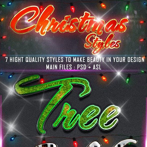 Christmas = Styles =