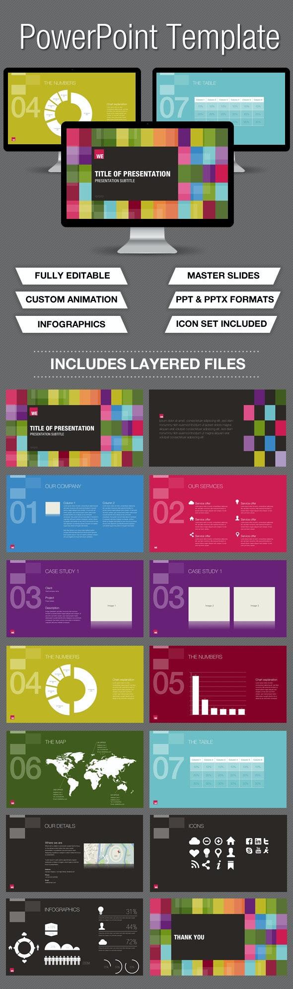 Colour Powerpoint Presentation - PowerPoint Templates Presentation Templates