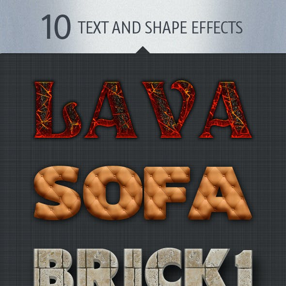 10 Text and Shape Effects