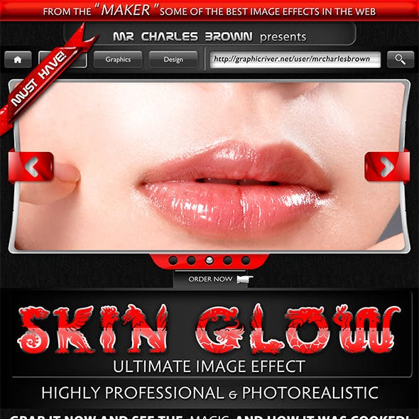 Skin Glow Image Effects