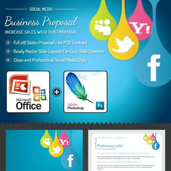 Social-media PowerPoint Presentation Template