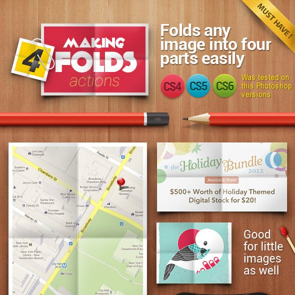 To 4 Folds