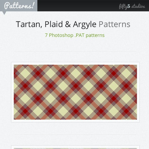 7 Tartan, Plaid & Arglye Patterns