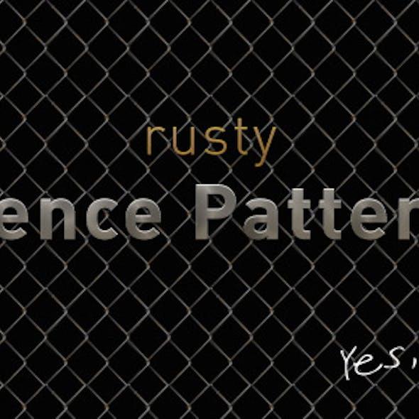 Rusty Fence Pattern