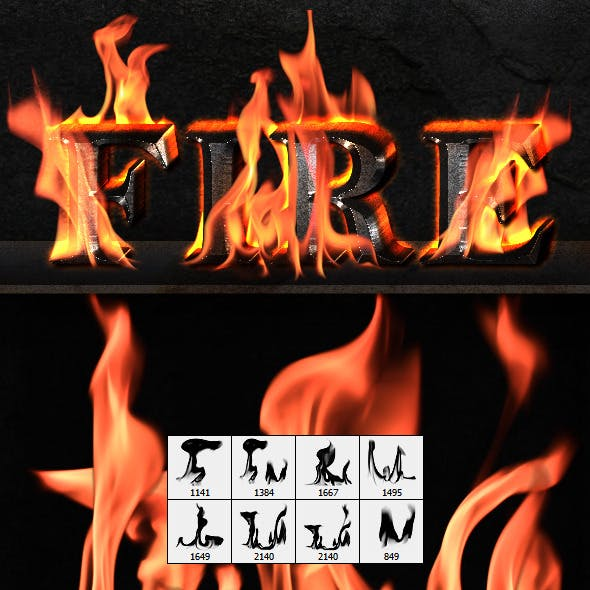 Fire Flames (Brushes)