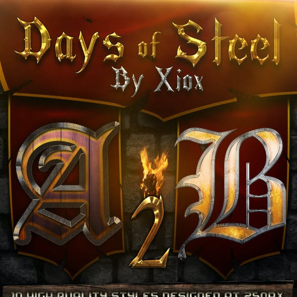 Days of Steel -Style Pack 2-
