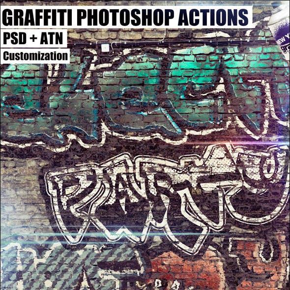 Graffiti Photoshop Actions