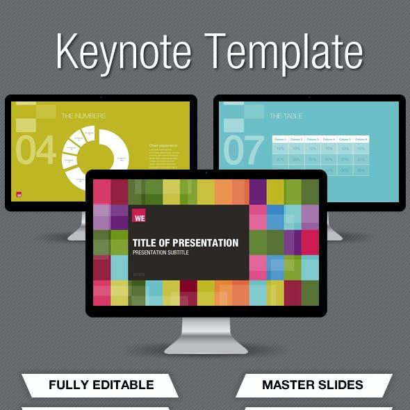 Colour Keynote Presentation