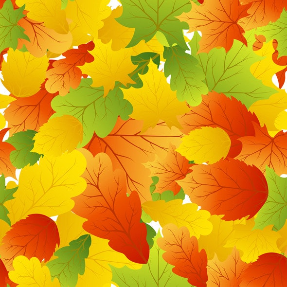 Autumn Seamless  - Nature Textures / Fills / Patterns