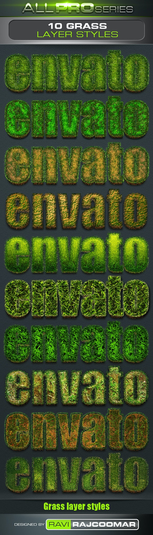 Grass Text Styles - Text Effects Styles