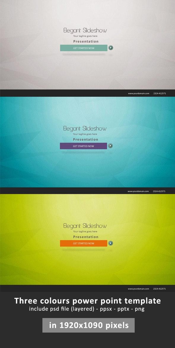 Elegant Presentation Power Point - Business PowerPoint Templates