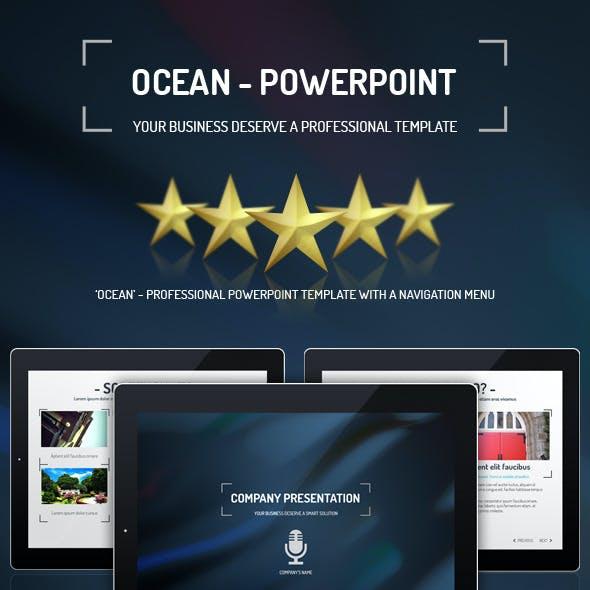 Ocean - PowerPoint Presentation Template