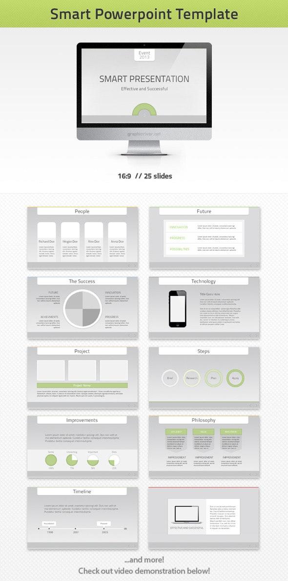Smart PowerPoint Template - PowerPoint Templates Presentation Templates