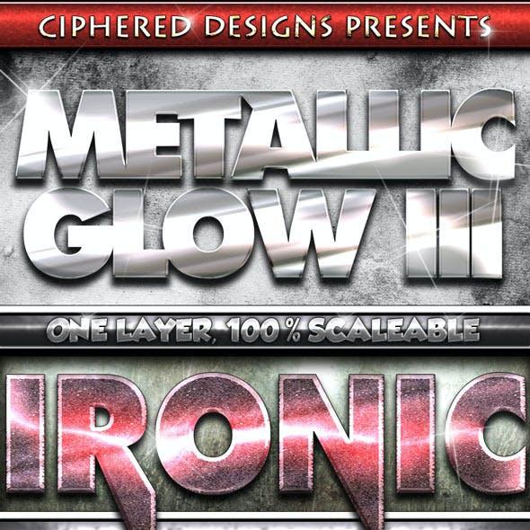 Metallic Glow III - Professional Styles