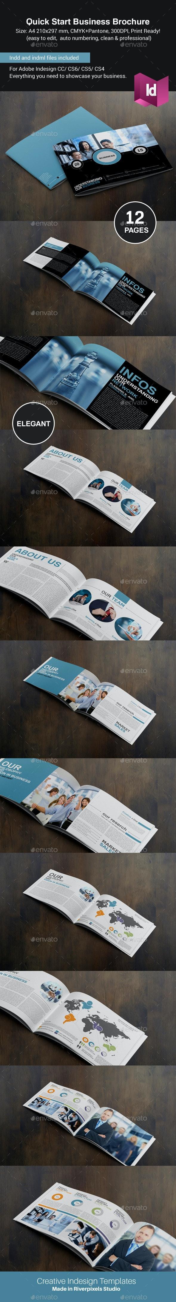 Quick Start Business Brochure  - Corporate Brochures