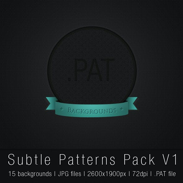 Subtle Patterns Pack V1