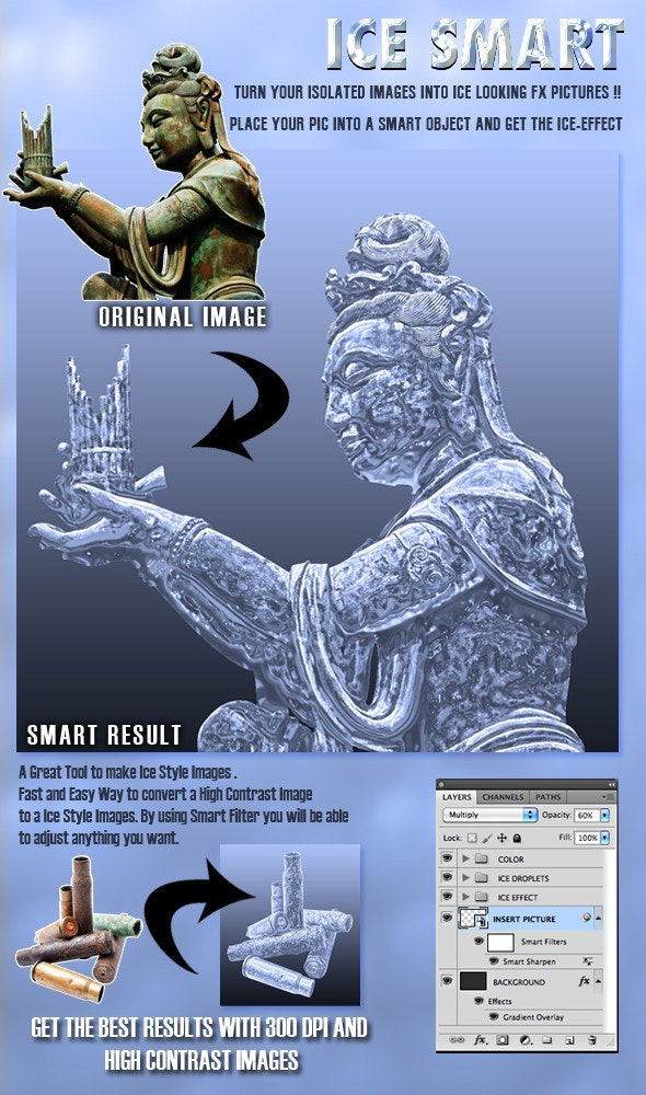 Ice Smart  - Photo Effects Actions