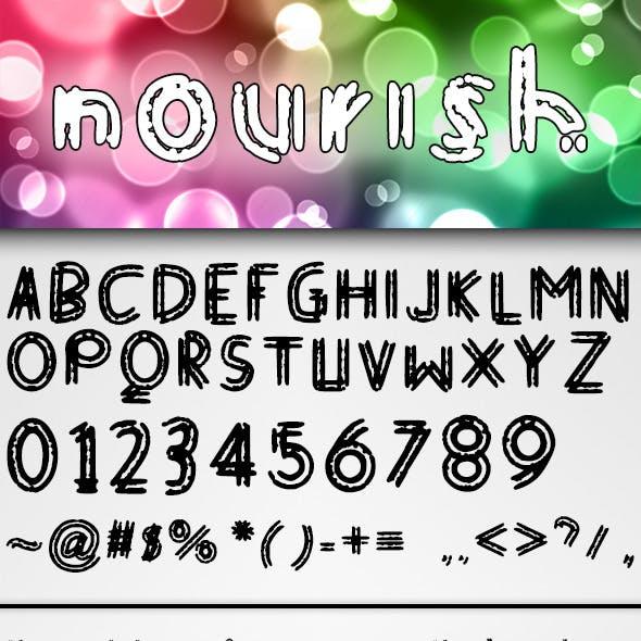 Nourish Font
