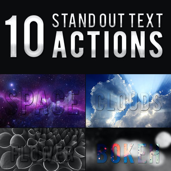 StandOut Text Actions