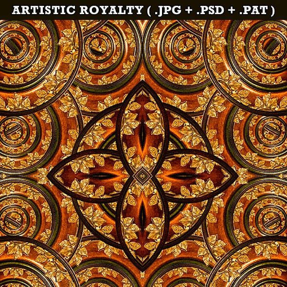 Artistic Royalty Background&Pattern