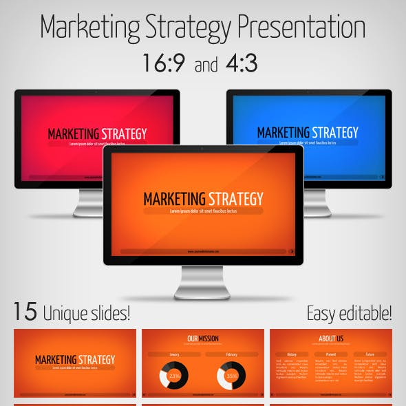 Marketing Strategy Presentation Keynote