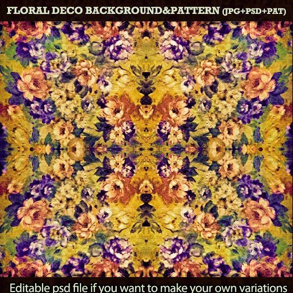 Floral Decorative Background&Pattern