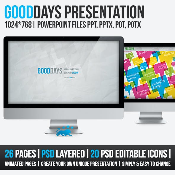 Good Days 26 Pages PowerPoint Presentation