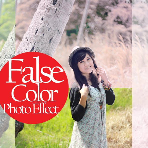 False Color Photo Effect
